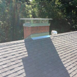 chimney cap in sunlight