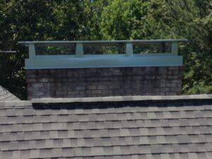 large chimney cap
